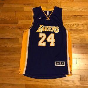 Vintage Kevin Garnett Minnesota Timberwolves NBA Kobe Bryant Los Angeles  Lakers Jersey Adidas XL ... 82af6123b